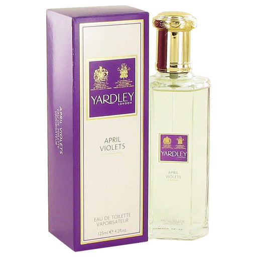 April Violets 3 x 3.5 oz Soap By Yardley London