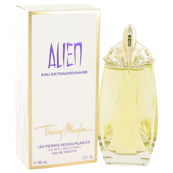 Alien Eau Extraordinaire Eau De Toilette Spray Refillable (Gold Shimmer Edition Tester) By Thierry Mugler