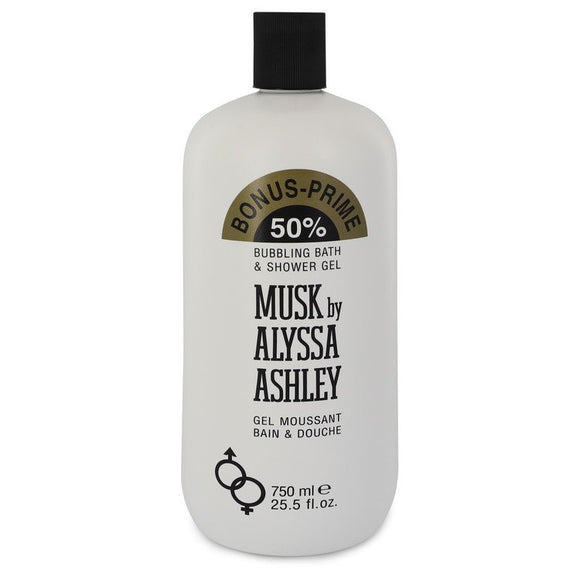 Alyssa Ashley Musk Shower Gel By Houbigant