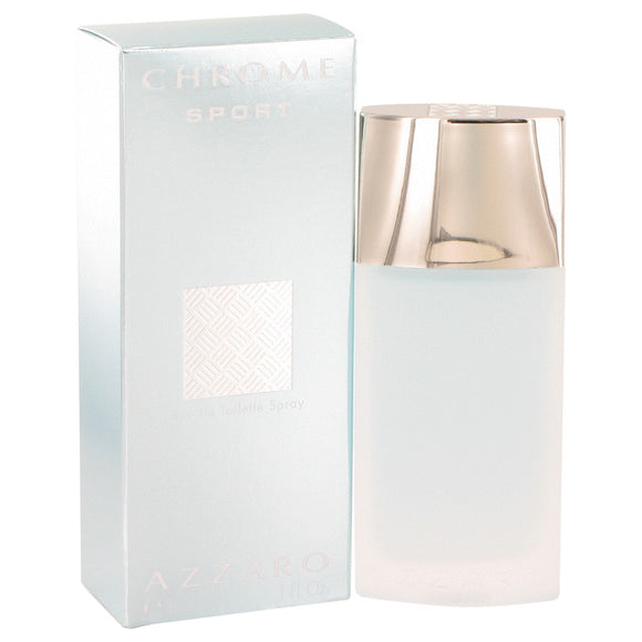 Chrome Sport Eau De Toilette Spray By Azzaro