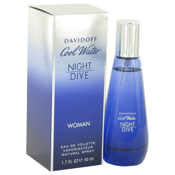 Cool Water Night Dive Eau De Toilette Spray By Davidoff