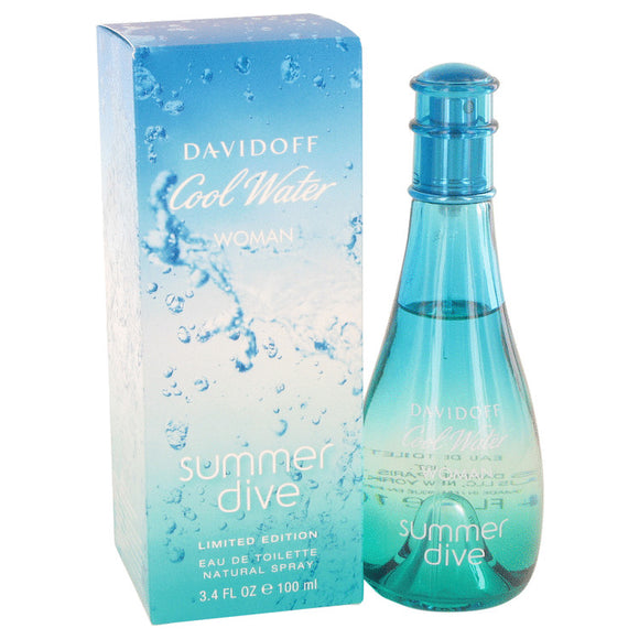 Cool Water Summer Dive Eau De Toilette Spray By Davidoff