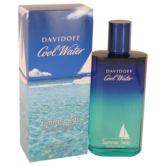 Cool Water Summer Seas Eau De Toilette Spray By Davidoff