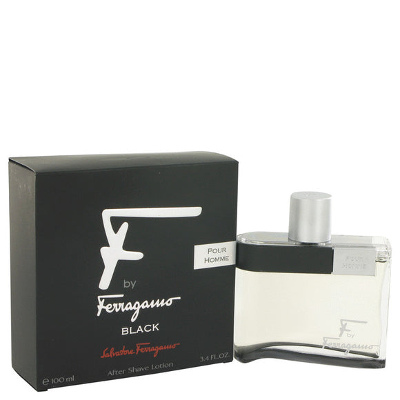 F Black After Shave Lotion By Salvatore Ferragamo
