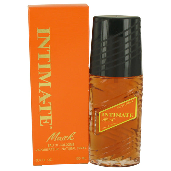 Intimate Musk Eau De Cologne Natural Spray By Jean Philippe