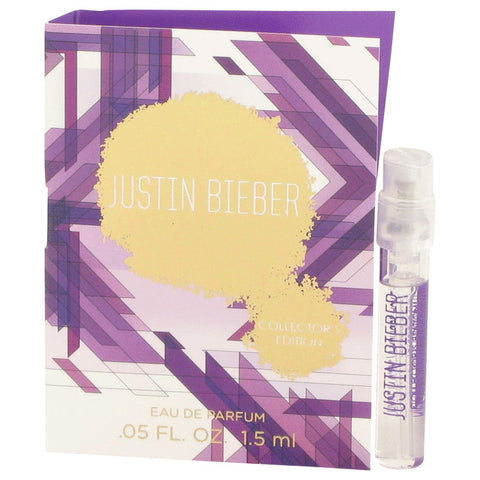 Justin Bieber Collector's Edition Vial (Sample) By Justin Bieber