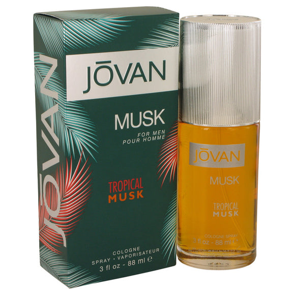 Jovan Tropical Musk Cologne Spray By Jovan