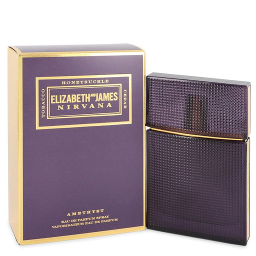 Nirvana Amethyst Eau De Parfum Spray (Unisex) By Elizabeth and James