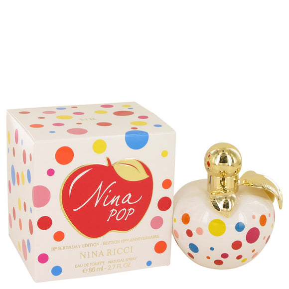 Nina Pop Eau De Toilette Spray (10th Birthday Edition) By Nina Ricci