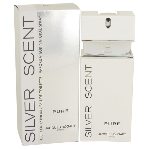 Silver Scent Pure Eau De Toilette Spray By Jacques Bogart