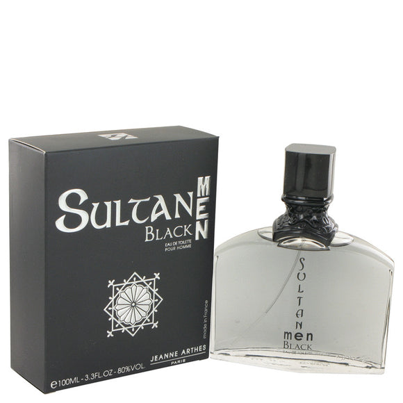 Sultan Black Eau De Toilette Spray By Jeanne Arthes