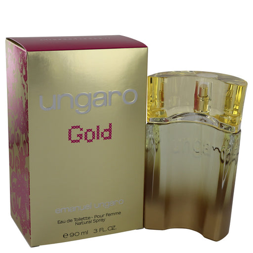 Ungaro Gold Eau De Toilette Spray By Ungaro