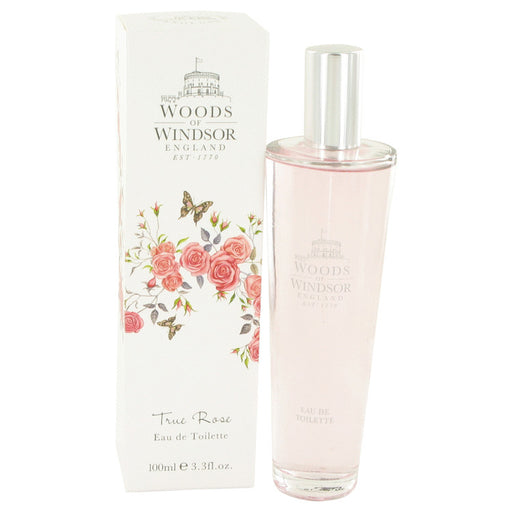 True Rose Eau De Toilette Spray By Woods of Windsor