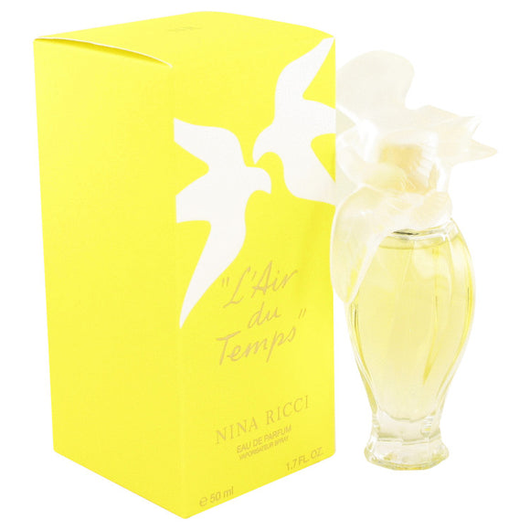 L'air Du Temps Eau De Parfum Spray with Bird Cap By Nina Ricci