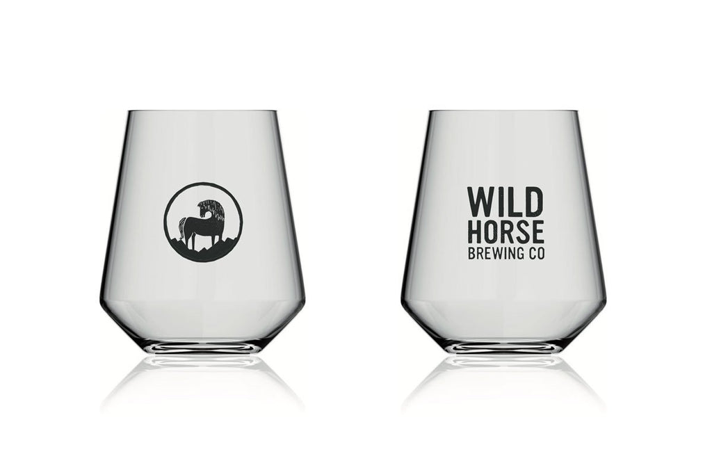 Wild Horse Branded 2/3 Pint Glass