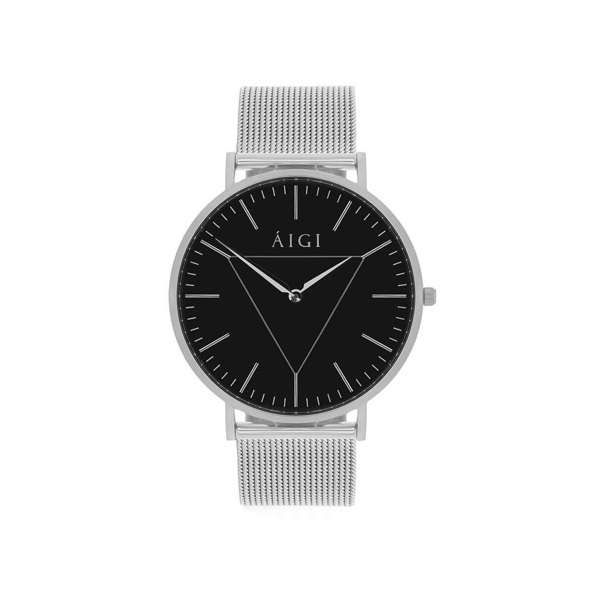POLARIS 40MM - SØLV MESH