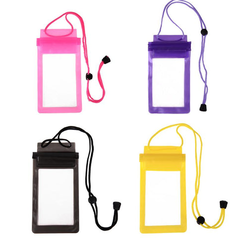 Waterproof Mobile Phone Case Strong 3 Layer Sealing Gadget Pouch