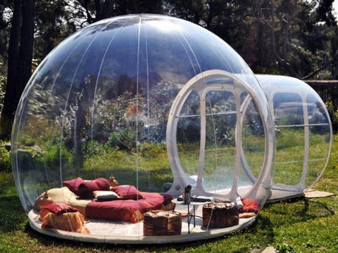 Free Blower Inflatable Bubble House Dome Igloo Tent