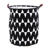 Foldable Laundry Storage Toys Organizer Home Sundries Barrel