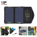 Solar Charger Portable Battery Chargers Phone Charging for Hiking