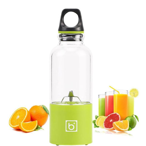 500 ML Portable USB Rechargeable Electric Fruit Juice Extractor