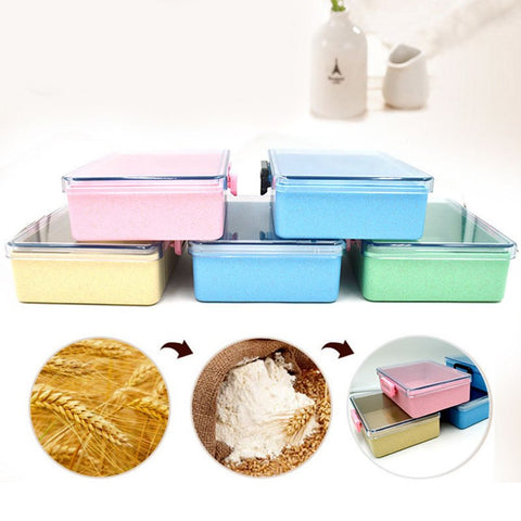 Leak-Proof Biodegradable Microwavable Lunch Food Bento Box