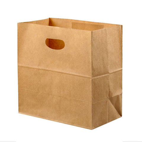 Multifunctional Reusable Durable Biodegradable Paper Bags With Handles
