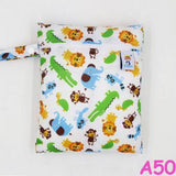 20 Single Waterproof Reusable Pocket Baby Cloth Diaper Bag