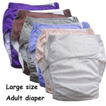 Reusable Waterproof Incontinence Adult Diaper Adjustable Underwear