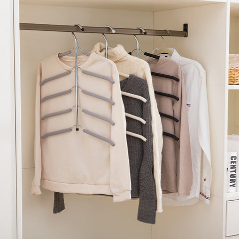 Multilayer Stainless Steel Clothing Storage Racks Clothes Hanger