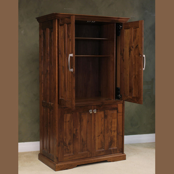 Computer Armoire Wood Revival
