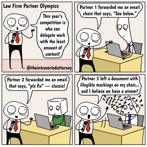 Law Firm Partner Olympics