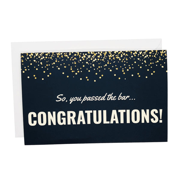 Passed the Bar Congratulations Card for New Attorneys