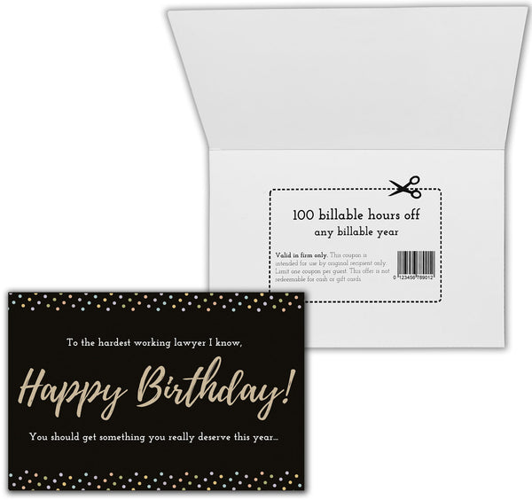 Happy Birthday Lawyer Gift Box | Lawyer Birthday Box | Birthday Care Package for Lawyers | Attorney Birthday Gifts
