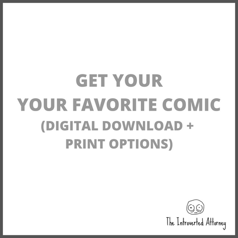 Your Choice of Comic | Digital Download & Print