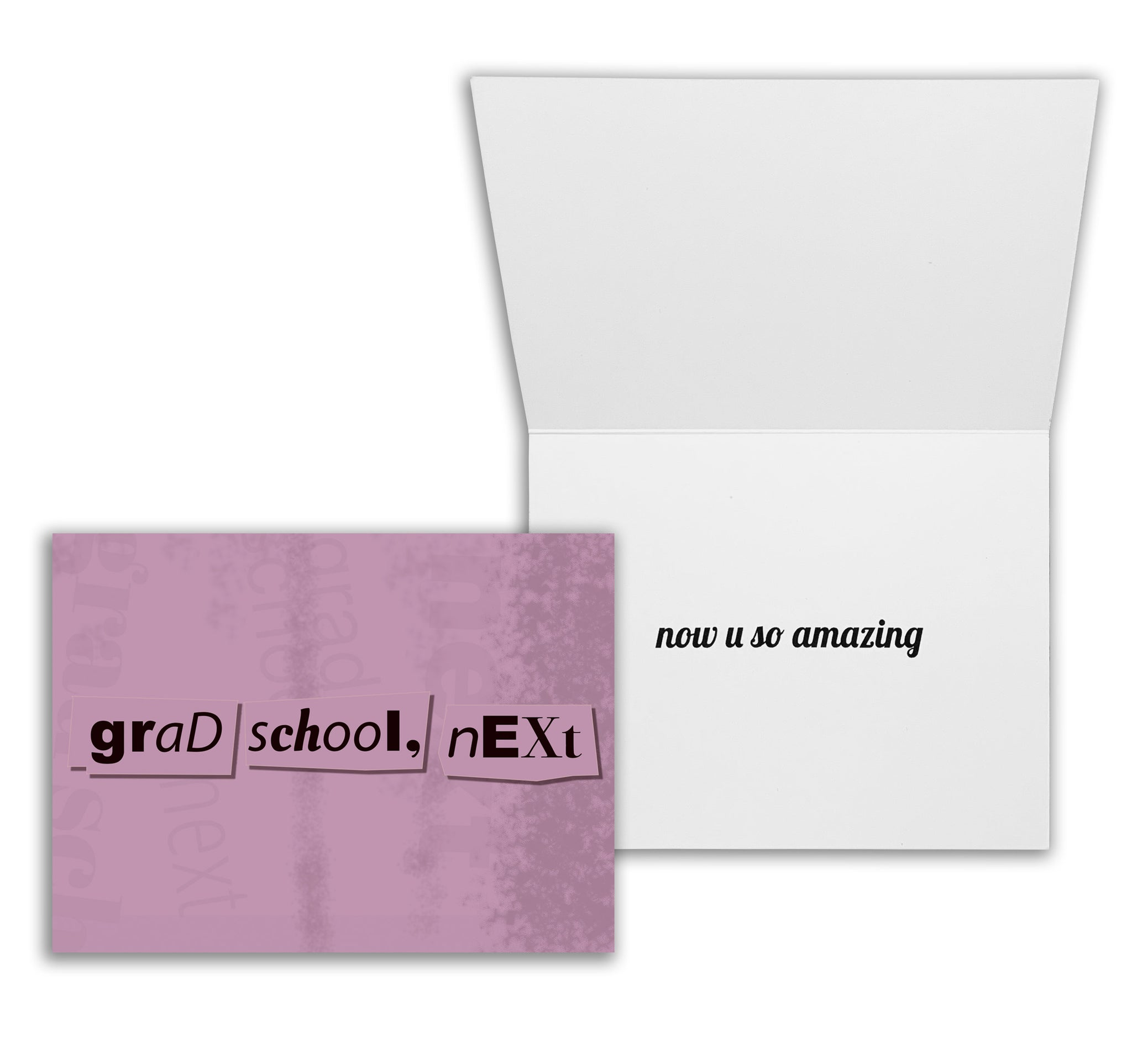 Grad School, Next | Graduate Student Congratulations or Graduation Card