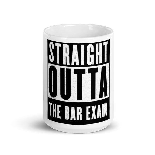 Straight Outta The Bar Exam Lawyer Mug | Best Attorney Gifts | Funny Lawyer Cup | The Introverted Attorney