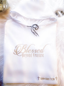 Blessed Beyond Measure - Lightweight Hoodie