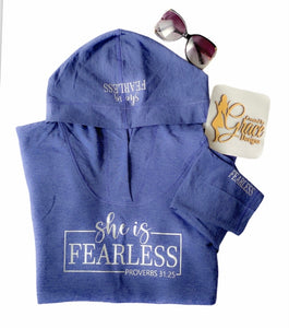 She is Fearless Hoodie
