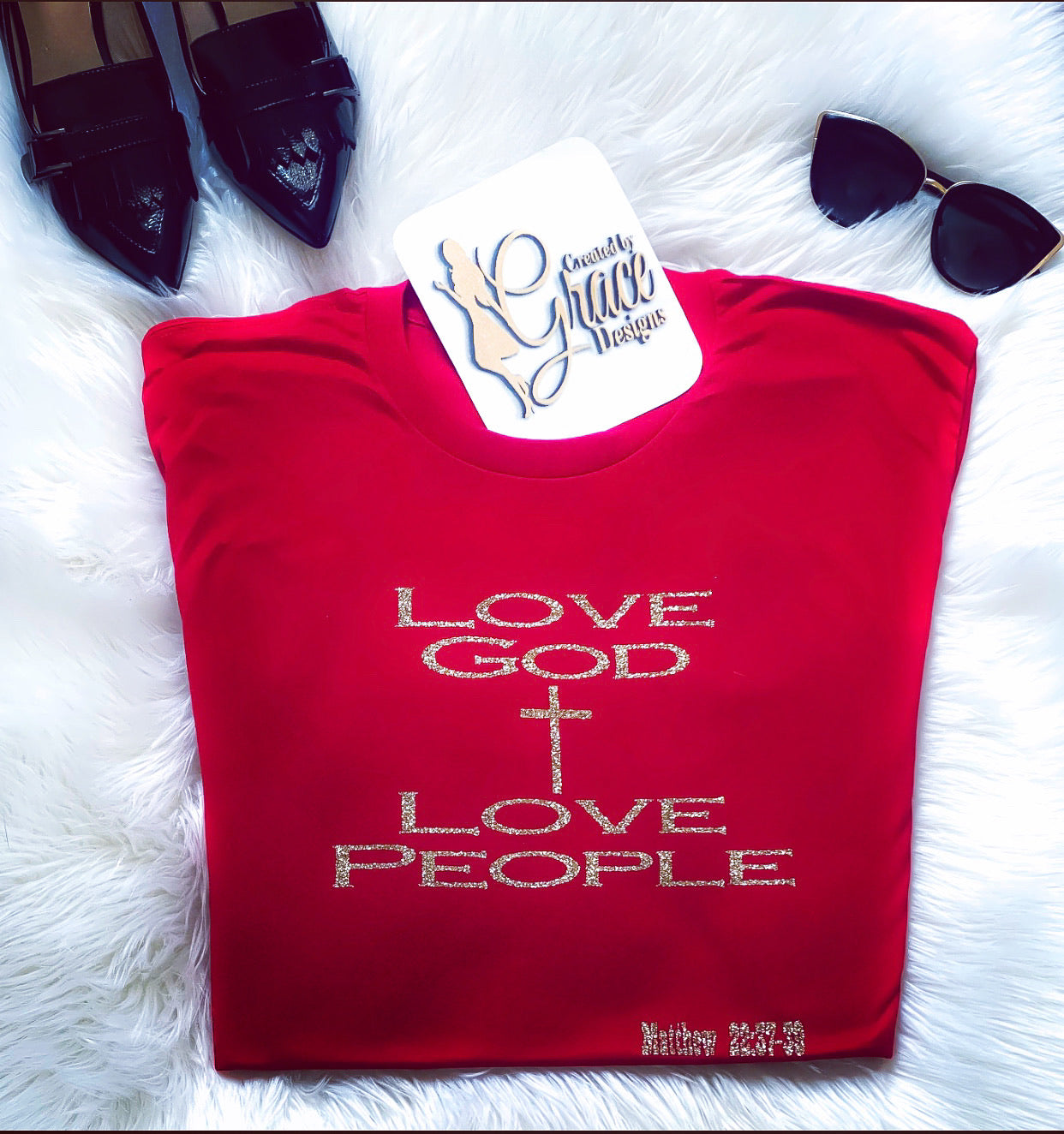 Love God | Love People- Tee