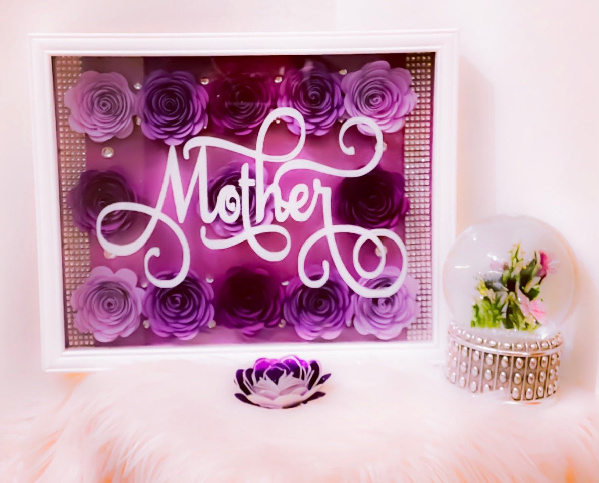 Gift for Mom, Shadowbox