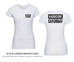 CAMISETA CHICA HARDCORE SATURDAY