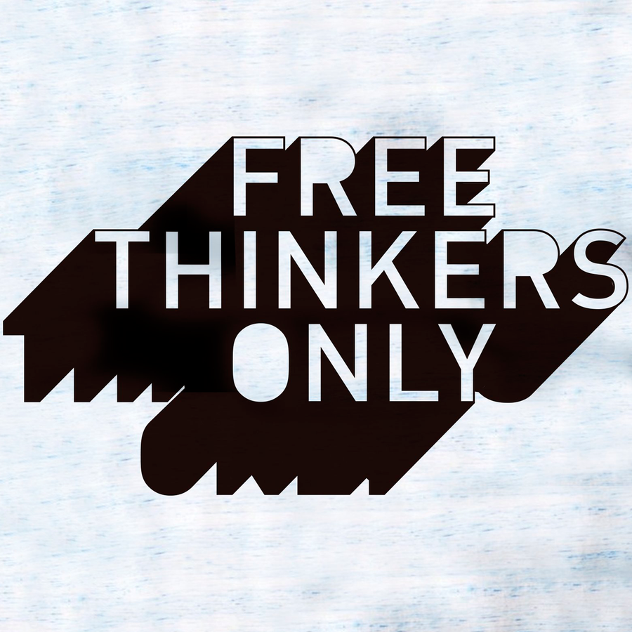 Free Thinkers Only Racerback Tank | Blue Marble