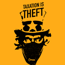 Load image into Gallery viewer, Taxation is Theft Tank | Gold