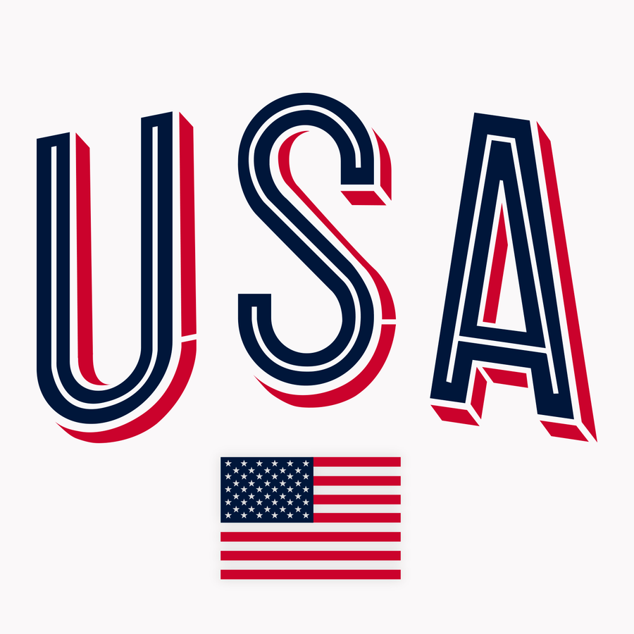 USA Crop | White