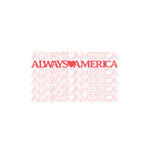 Always America Short Sleeve | White