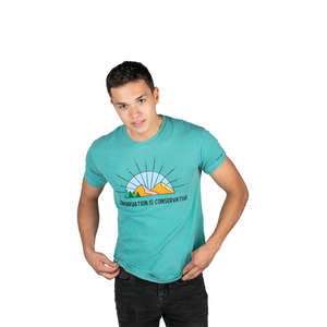 Conservation is Conservative Short Sleeve | Teal
