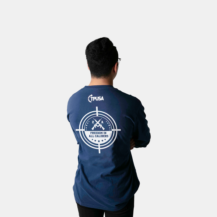 2A Scope Long Sleeve | Navy