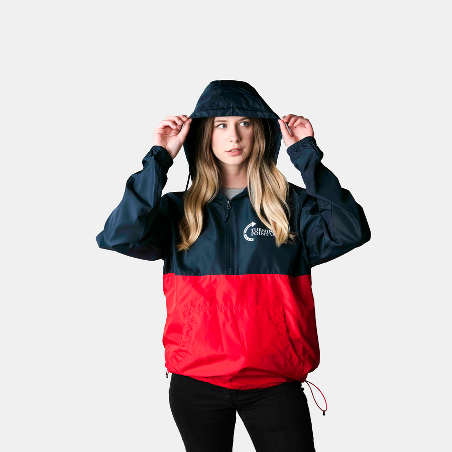 Tpusa Windbreaker | Blue/Red