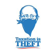 Load image into Gallery viewer, Taxation is Theft LIMITED EDITION | White